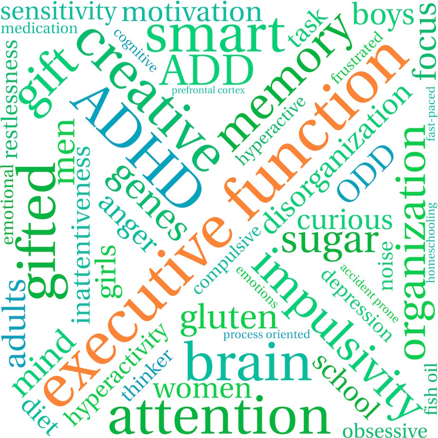 Adult attention deficit and hyperactivity